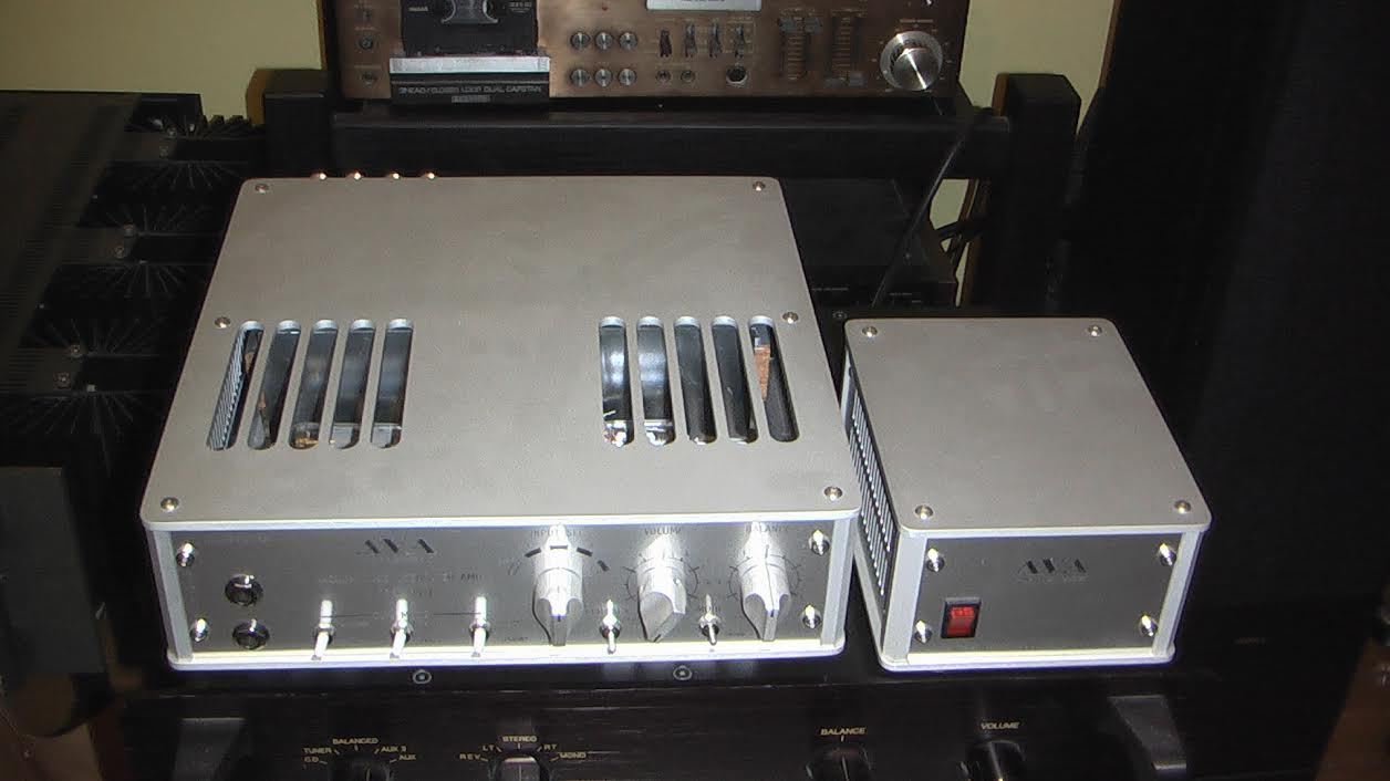 AVA Audio Vacuum Tube Integrated Amplifier Model PA-4